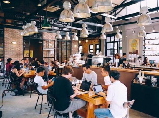 Mở quán Cafe cho dân laptop