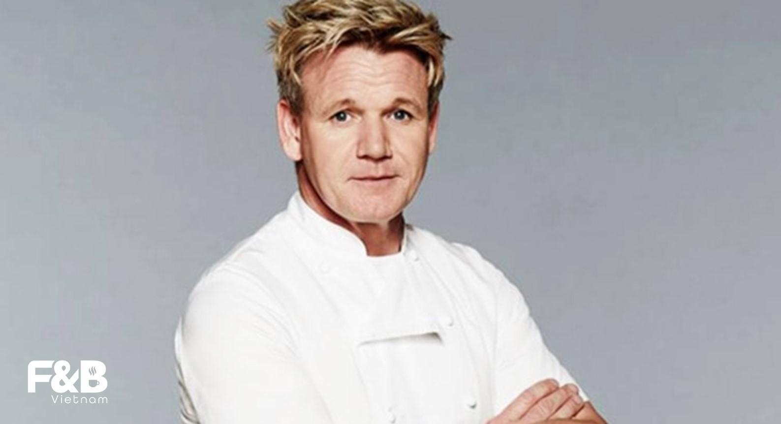 Gordon Ramsay - Top 10 đầu bếp Michelin